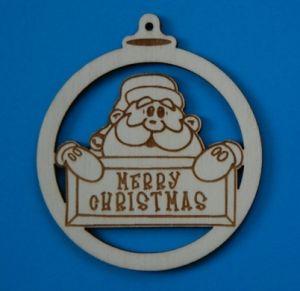 Lesen okrasek božič