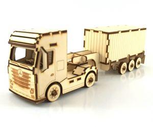 Tovornjak s kontejnerjem